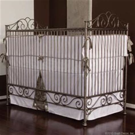 Wrought Iron Cribs by Wrought Iron Metal Crib Set Vintage Antique Ababy