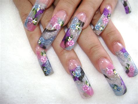 cute pattern nails fingernail designs long nails long nail art designs