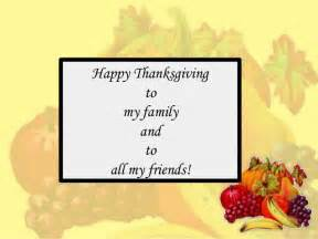happy thanksgiving quotes happy thanksgiving friends and family quotes quotesgram