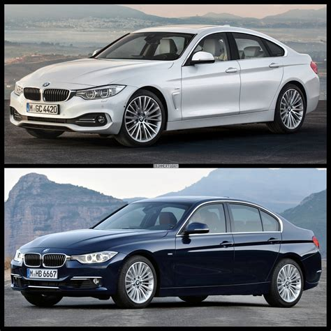 Bmw 2er Vs 4er Cabrio by Bmw 4 Series Gran Coupe Vs Bmw 3 Series Sedan
