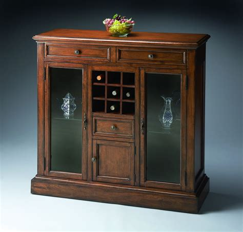 Wine Bar Cabinet Wine Bar Cabinet American Cherry Wine Bar Storage Cabinet Howard Miller Sonoma Home Bar