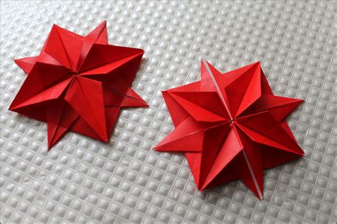 Origami 12 Point - easy origami 8 pointed comot
