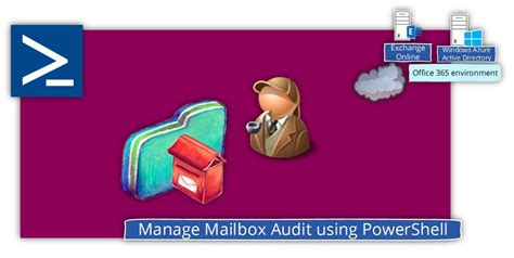Office 365 Junk Mail Settings Powershell Manage Mailbox Audit Using Powershell Office 365