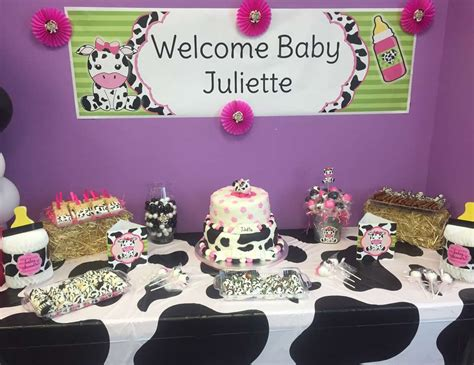 Cow Themed Baby Shower by Cow Baby Shower Quot Tysheena Julius Baby Shower Quot Catch
