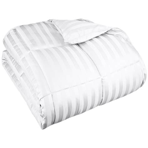 thick down alternative comforter all season down alternative wide stripe comforter