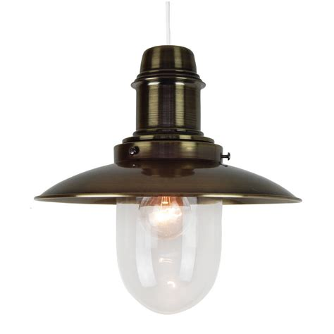Fisherman Ceiling Light Antique Brass Fisherman Ceiling L By Country Lighting Notonthehighstreet
