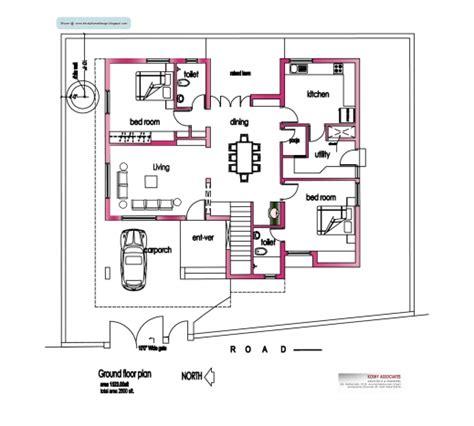 kerala home plan and elevation 2800 sq ft kerala kerala house plan elevation 2800 house floor plans