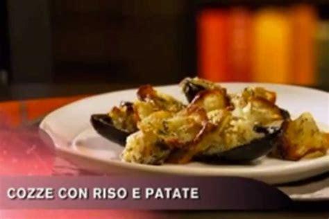 cucina con buddy ricette ricetta cozze con riso e patate cucina con buddy