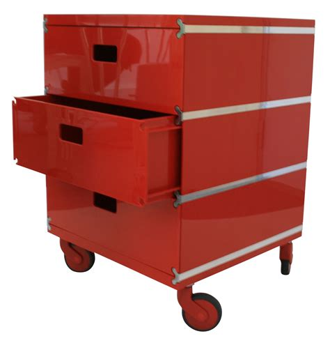 Drawers On Wheels by Plus Unit Mobile Container 3 Drawers On Wheels