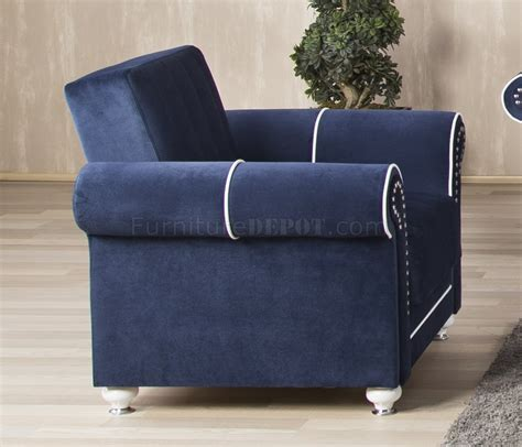 royal blue sectional couches royal home sectional sofa in dark blue fabric by casamode