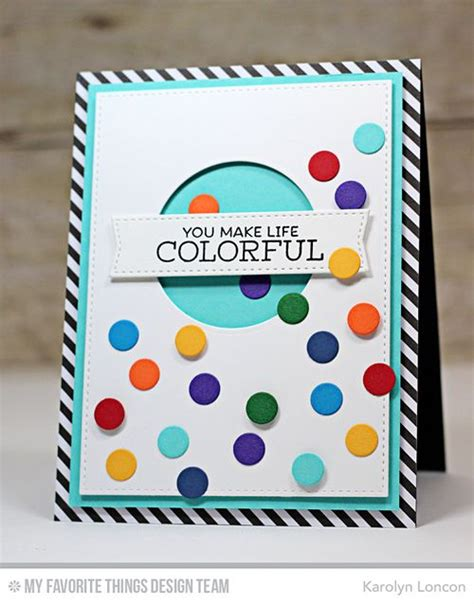 Handmade Greeting Card Kits - handmade card from karolyn loncon featuring gumball