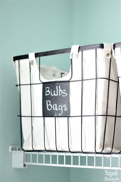 laundry room basket storage laundry room storage with wire baskets chalkboard tags
