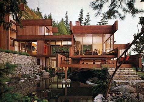 pacific northwest houses arthur erickson pacific northwest modern master build blog