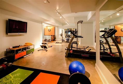 25 Stunning Private Gym Designs For Your Home