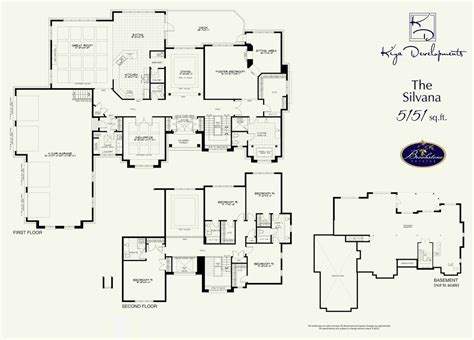 floor plan for new homes the silvana at brookstone estates in brooklin by kiya