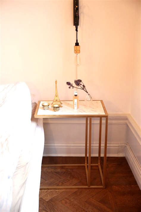 diy bed table 12 ways to put marble in your home that you can buy or diy