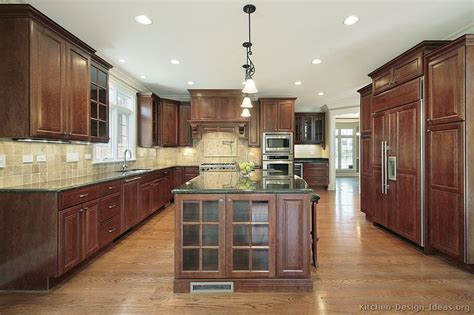 pictures of kitchens traditional dark wood kitchens cherry color pictures of kitchens traditional dark wood kitchens