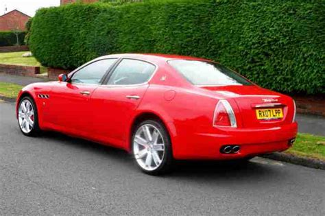 red maserati quattroporte maserati 2007 quattroporte sp gt d s sa red full service
