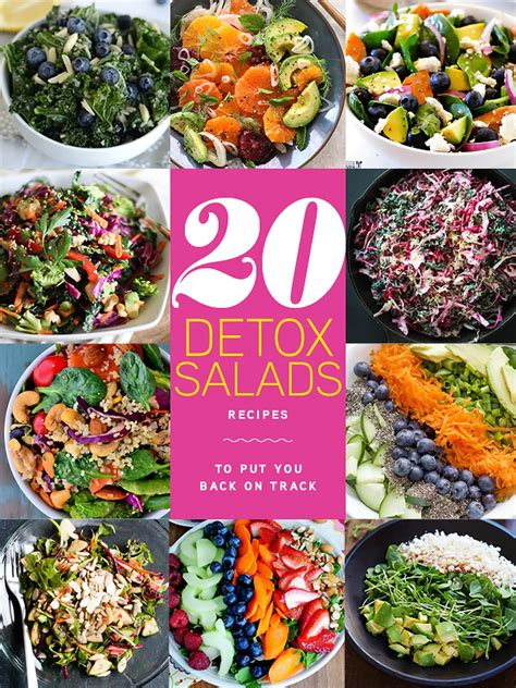Detox Metagenics Get On Track Healthy Year by 20 Detox Salads To Put You Back On Track Foodiecrush