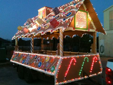 lighted christmas parade ideas float ideas fishwolfeboro