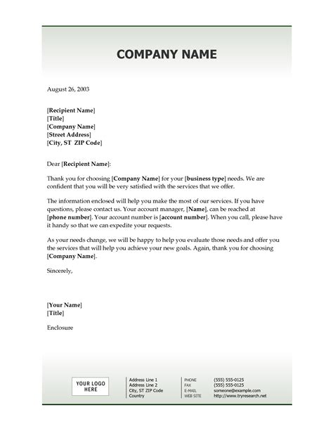 Bank Welcome Letter New Customer best photos of sle company welcome letters business