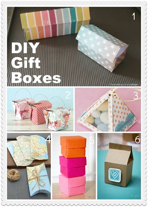 Handmade Gift Box Ideas - 15 easy to make creative gift box ideas beep