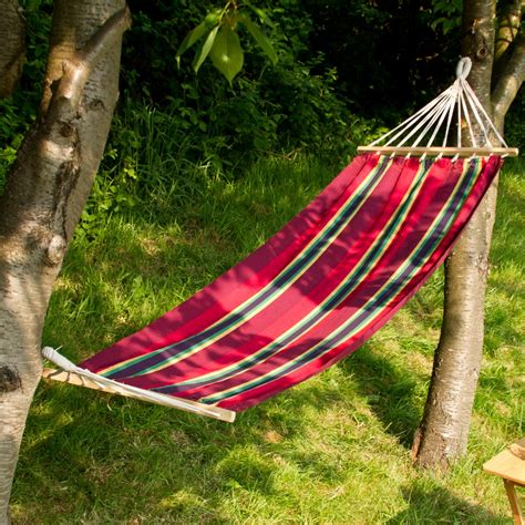 outdoor garden canvas hammock swinging hanging cing