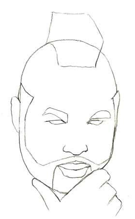 one t draw draw mr t