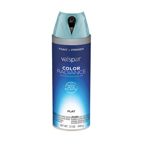 shop valspar 12 oz la fonda mirage flat spray paint at lowes
