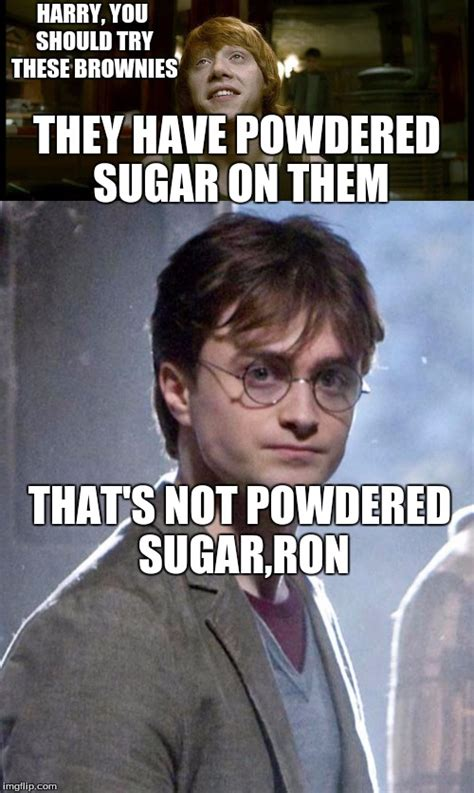 Harry Potter Meme Generator - harry potter that wasn t powdered sugar imgflip