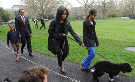 white house dog names president obama first lady michelle obama and their daughters malia and sasha welcome
