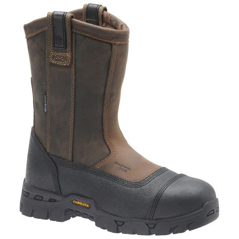 composite boots s carolina 174 waterproof composite broad toe wellington