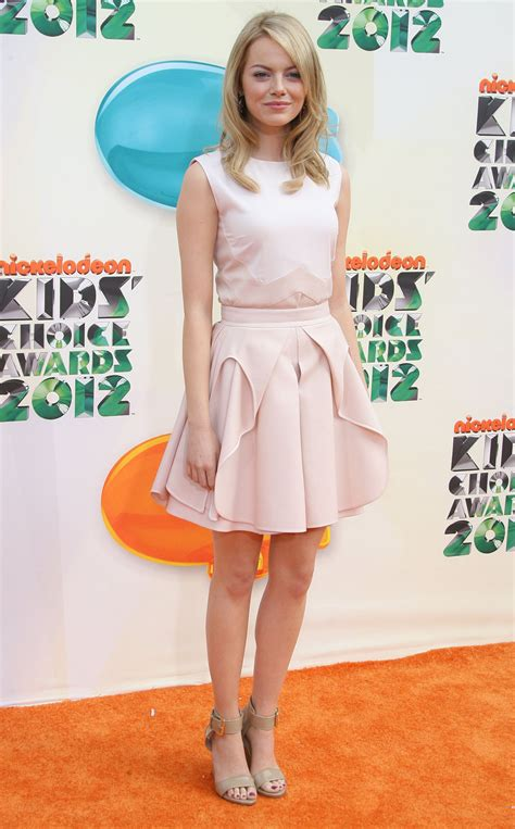 emma stone pink dress 50 s theme