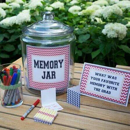 high school christmas party idea hosting an outdoor graduation this a memory jar is sure to spark conversation