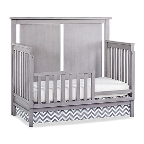 Convertible Crib Guard Rail Buy Munire Wyndhma 4 In1 Convertible Crib Toddler Guard Rails In Ash Grey From Bed Bath Beyond