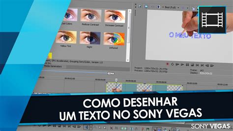 tutorial sony vegas youtube tutorial sony vegas e photoshop m 227 o desenhando texto