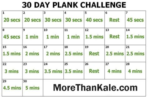 30 day plank challenge printable calendar innovative 30 day plank challenge printable calendar
