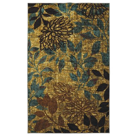 Mohawk Throw Rugs by Mohawk Home 174 Mystic Garden 8x10 Area Rug 283795 Rugs At Sportsman S Guide