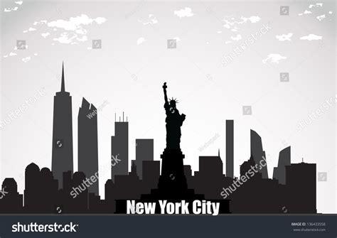 Landscape Architect License New York New York City Landscape Stock Vector 136433558