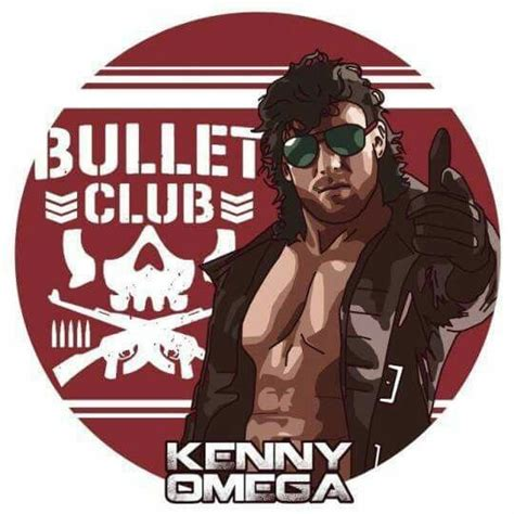 kenny omega bullet club a promo graphic made for quot the cleaner quot kenny omega member