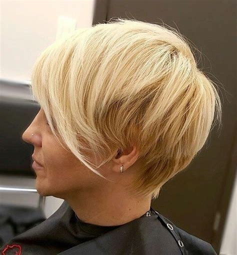 short at back longer at front choppy womens hair 30 charming short fringe hairstyles for any occasion