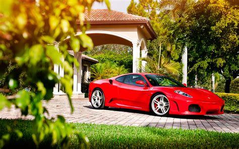 car ferrari wallpaper hd ferrari f430 on adv1 wheels 2 wallpaper hd car wallpapers