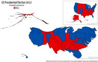 us electoral map by population viewsoftheworld net on reddit