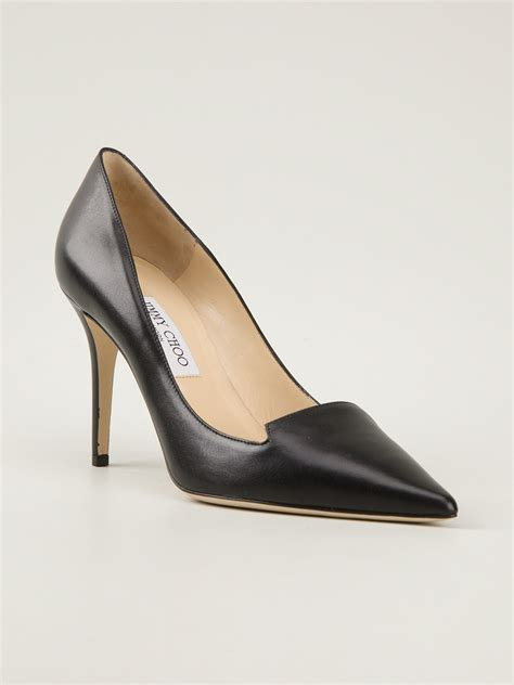 high heels jimmy choo jimmy choo avril pumps in black lyst