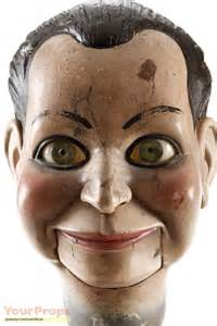dead silence billy ventriloquist doll head original movie prop