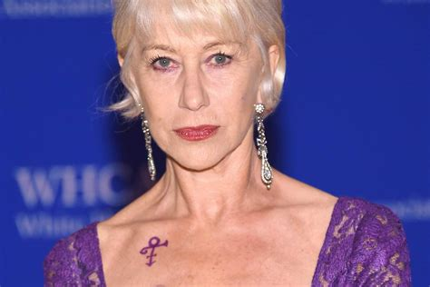 helen mirren sports prince tribute at white house