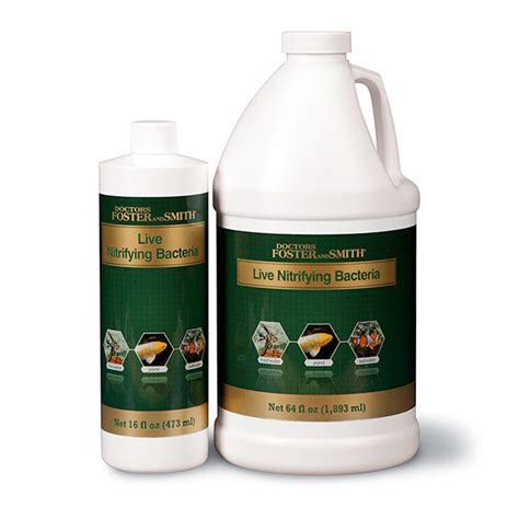 foster smith aquarium bacterial additives drs foster and smith live nitrifying bacteria