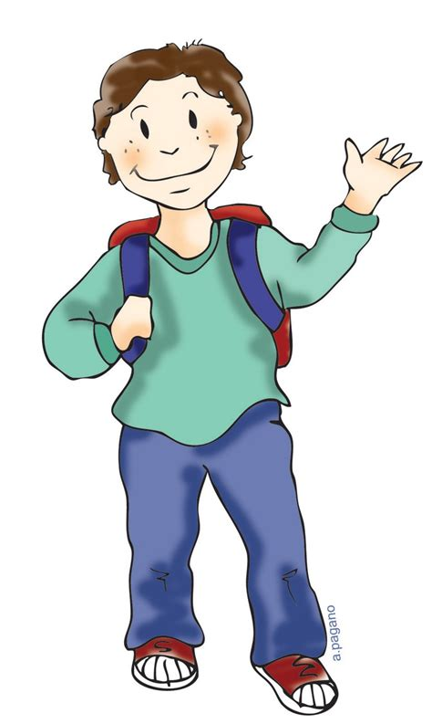 student clipart student standing clipart