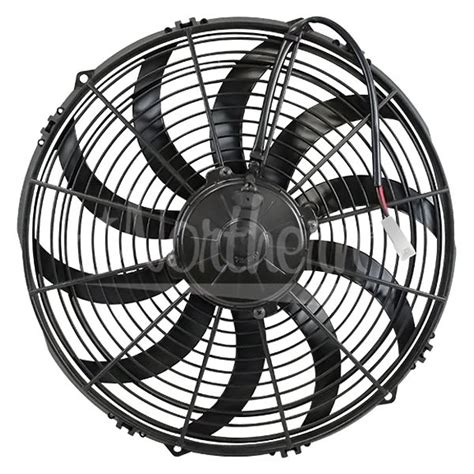 high cfm electric radiator fans northern radiator 174 bm346950 max high cfm 14 quot puller
