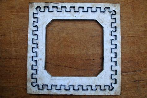 Tikar Spon Lipat pisau potong untuk buat tikar puzzle berbahan spon